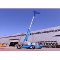 Buy cheap Stable Telescopic Boom Lift With Buffer Device Movement Speed Automatically Restricted from wholesalers