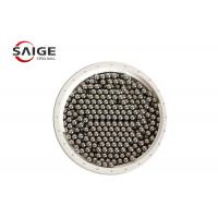 Buy cheap G100 Aisi 1010 Carbon Steel Sphere , Professional Round Steel Balls Bright Surface from wholesalers
