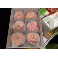 Safety Apple Fruit Foam Net Shockproof With Excellent Flexibility And Expansible Manufactures