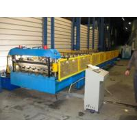 Roof Panel Roll Forming Machine With Hydraulic Cutting Type For Steel-structure Warehouse Manufactures
