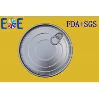 Buy cheap EOE Tin Can Lid 502 126.5mm Tinplate Easy Open Ends Food Grade from wholesalers