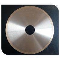 Industrial Diamond Tile Saw Blade Continuous Rim Blade T-Slot / Hook Slot Type