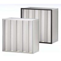 Buy cheap Clean Room SUS Frame Plastic V Cell Terminal HEPA Filter Easy To Handle from wholesalers