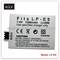 Buy cheap Camera battery LP-E5 for Canon from wholesalers