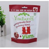 Buy cheap Grease proof printed stand up bag / flexible plastic food packing laminating pouches for gummy bears candy bag from wholesalers