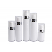 Buy cheap AS Plastic 100ml 120ml Lotion Pump Airless Bottle from wholesalers