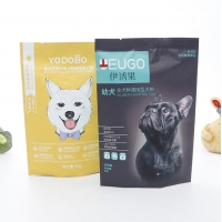 Buy cheap Non Toxic Pet Food Stand Up Aluminum Foil Bag Pouch Color Gravure Printed With Zipper from wholesalers