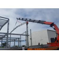 Buy cheap Economical design big wind load indutry steel workshop building in Mauritius from wholesalers