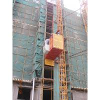 Buy cheap 1 Ton Single Cage Construction Building Material Hoist For Cargo, Passenger SS100/100 from wholesalers
