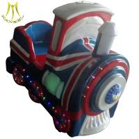 Buy cheap Hansel used coin operated kiddie rides mini electric children ride on train from wholesalers