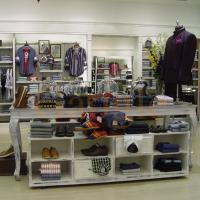 Buy cheap High-end extravagant used clothes shop counter wood for shops from wholesalers