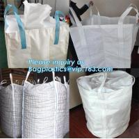 Buy cheap chinese supplier 1000kg rice flour woven bag pp big bag packing the GARBAGE sand earth,China supplier PP woven bulk big from wholesalers