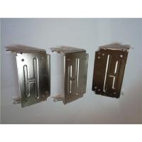 Buy cheap Galvanized Stamped Sheet Metal Parts Customized For Computer Case / Electric Boxes from wholesalers