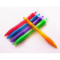Buy cheap 0.7 or 1.0mm grip promotional pen plastic ball point pen from wholesalers