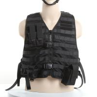 Buy cheap Molle System Police Safety Equipment Swat Tactical Vest With Flexible Pouches from wholesalers