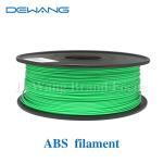 Green Flexible Consumables 3MM ABS Filament 1KG /Spool For MakerBot RepRap