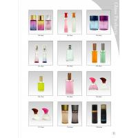 Buy cheap 50 ML Frosting Decorative Glass Bottles With Surlyn Caps And Perfume Pump from wholesalers