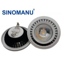 Buy cheap Recessed CRI 83 Ar111 Gu10 LED Dimmable , Black Heat Sink Ar111 LED 230V from wholesalers