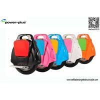 Buy cheap Motorized Energy Saving Gyroscopic Electric Unicycle With Samsung Lithium Battery product