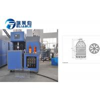 Buy cheap Low Noise Plastic Water Bottle Manufacturing Machine RM - 6L PLC Control from wholesalers