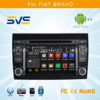 China Android 4.4 car dvd player with GPS for FIAT BRAVO with 2 din touch screen wifi bluetooth on sale