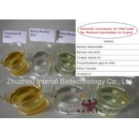 Buy cheap 99% Purity Steroid Solvent Oil Benzyl Alcohol CAS 100-51-6 Steroid Chemical Addictives from wholesalers