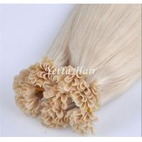 Buy cheap Professional Full Cuticles Pre Bonded U Tip Hair Extensions Nail Hair from wholesalers