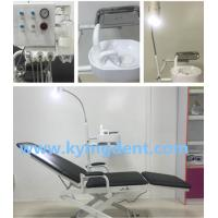 China Factory price black color beautiful design Portable Dental Chair on sale