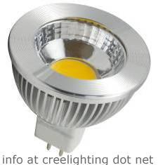 3watt MR16 LED Warm White COB Equivalent to 30watt