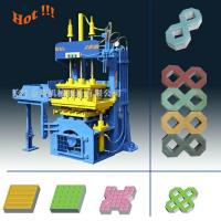 Buy cheap QTY2-20 Manual Operated Fly ash Paving Brick Block Making Machine For Small Business from wholesalers