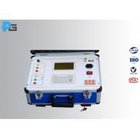 Buy cheap Portable Ratio Transformer Testing Equipment Three Phase With 200 MA Current from wholesalers