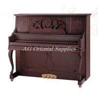 Wholesale 88-KEY  Acoustic wooden upright Piano import mahogany matt red brown AG-131Y3 from china suppliers