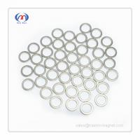 Buy cheap NdFeB Ring magnets with thin wall from wholesalers