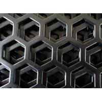 Customize mirror finish honeycomb perforated stainless steel sheets with  1219mm width Manufactures