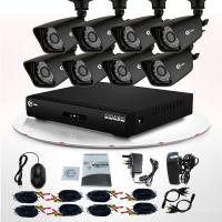 Buy cheap Night Vision 8CH Full HD CCTV DVR Kit IR 800TVL for Home Camera Security System from wholesalers