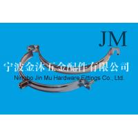 Buy cheap Ventilation Pipe Industrial Hose Clamps with Electro galvanized Steel Antirust from wholesalers
