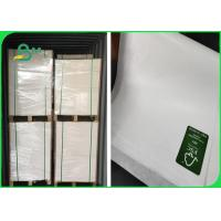 Buy cheap FSC Accredited 30 - 50GSM MG MF White Craft Paper One Side Coated And Glossy from wholesalers