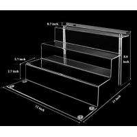 Buy cheap Modern Retail Store Display Stand Acrylic Display Unit Stable Structure from wholesalers