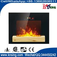 Buy cheap wall mounted fireplace wall hang real flame effect,colorful style,LED lights,Red,Orange,Blue,EF551/EF551K,space heater from wholesalers