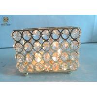 Buy cheap European / Shabby chic / antique Clear crystal candle holder for home / wedding decoration from wholesalers