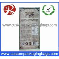 Buy cheap Compound Popcorn Plastic Food Packaging Bags , Printed Packaging Bags from wholesalers
