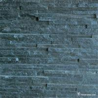 Buy cheap Blue And Black Quartzite Stone Veneer For Architects / Designers And Developers from wholesalers