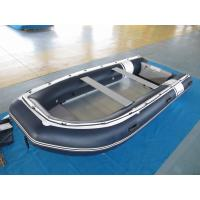 Buy cheap PVC 470cm inflatable dinghy Easy Take Against Abrasion With Foot Pump for water racing from wholesalers