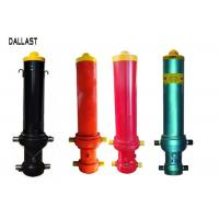 Buy cheap Single Acting Telescopic Hydraulic Cylinders FC Type for Dump Trailer Front Lift from wholesalers