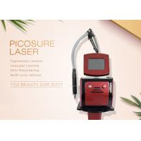 Buy cheap 755nm Wavelength Pico Laser Tattoo Removal Machine For Pigment Acne Treatment from wholesalers
