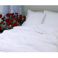 Buy cheap Pure White Linen Bedding Set Dovet Cover Set from wholesalers