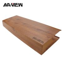 Buy cheap Square shape integrated aluminum lightweight ceiling tile for interior decorative from wholesalers