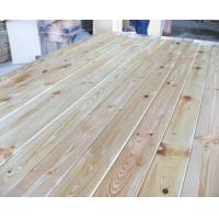 Buy cheap Russian Pine Wood Lumber 4000*180*25mm For Floor , Beams , Rails , Roofing , Guardrail from wholesalers