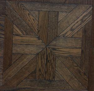 wood parquet floor-brushed oak