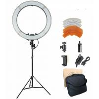 Buy cheap 18 inches 3200-5600K Dimmable LED Ring Light Kit for Portrait Makeup Video Shooting from wholesalers